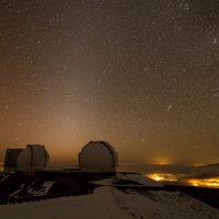 Zodiacal Light over Keck
