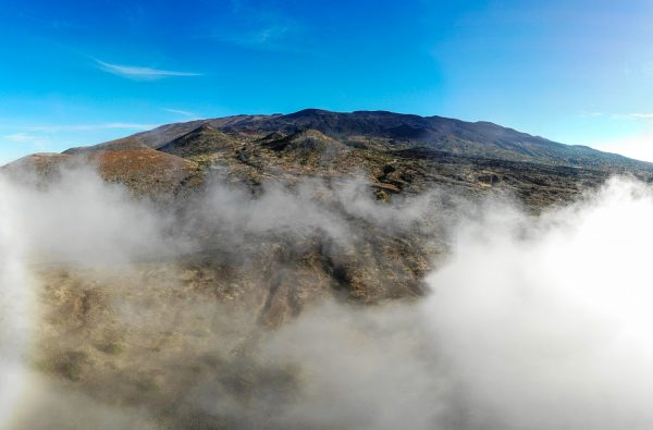 Mauna Kea above the Morning Fog