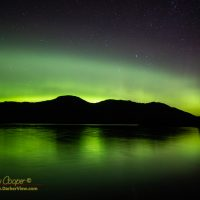 Aurora over Helm Bay