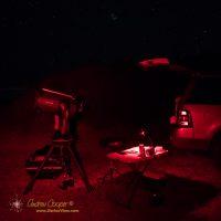 "The NexStar 11"" setup under a dark sky at Kaʻohe"