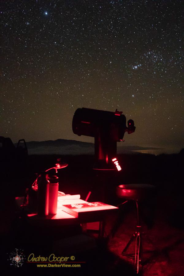 """NexStar 11"""" telescope at Kaʻohe"""