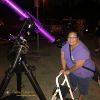 Shelly the the Pretty Purple Telescope