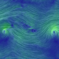 Hawaii straddled by hurricanes