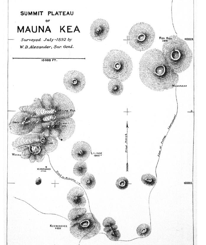 Mauna Kea Summit Alexander 1892