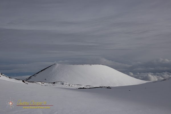 Puʻu Hou Kea in the Snow