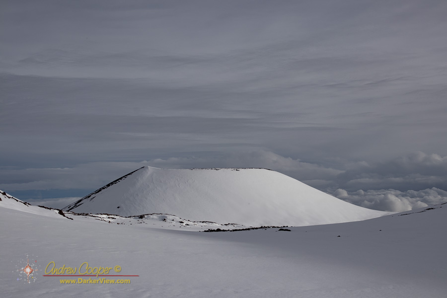 Puʻuhoukea in the Snow