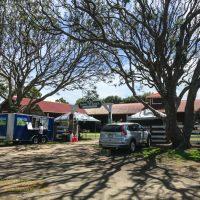 The Pukulani Stables mid-week farmers market in Waimea
