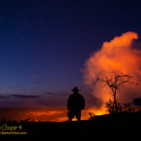 Gazing into creation at Kilauea Caldera