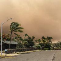 Smoke Over Waikoloa