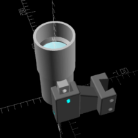 3D model of the 40mm finder ready for printing