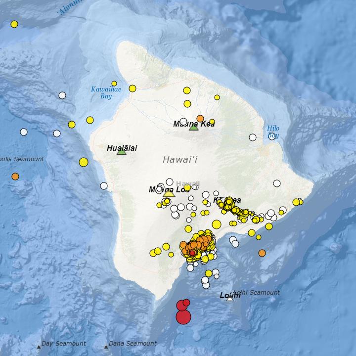 Magnitude 6.1 Down South